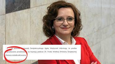 Agata Wojtyszak i jej pismo do dyrektorki ECB