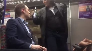 Zwrócił Polakowi uwagę, bo pil piwo w pociągu, a sam był pijany
