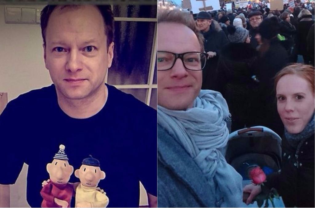 Maciej Stuhr, Katarzyna Błażejewska