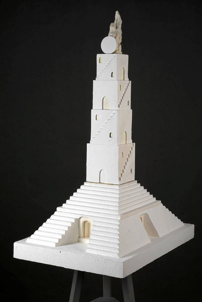 Małgorzata Niedzielko, Wieża Babel (w trakcie realizacji), obiekt, 2017, dzięki uprzejmości artystki / mat. prasowe