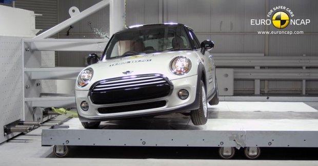 Mini Cooper (fot. Euro NCAP)