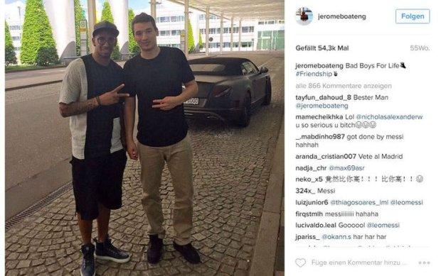 Jérčme Boateng Instagram