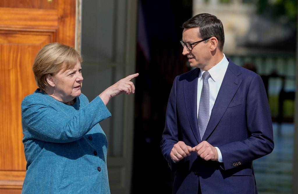 Angela Merkel z ostatnią wizytą w Warszawie w roli kanclerz