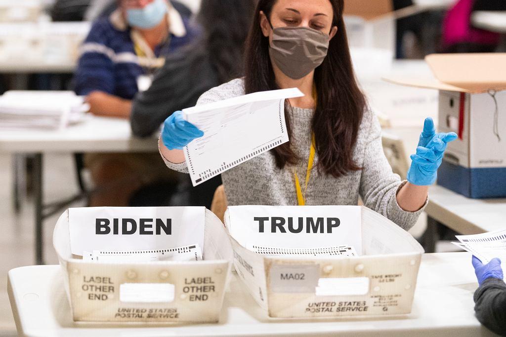 Wybory w USA. Ponowne liczenie głosów w Georgii
