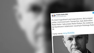 Dziennikarz Tomasz Kuc zmarł 22.11.2020
