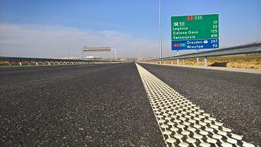 Fragment drogi ekspresowej S3