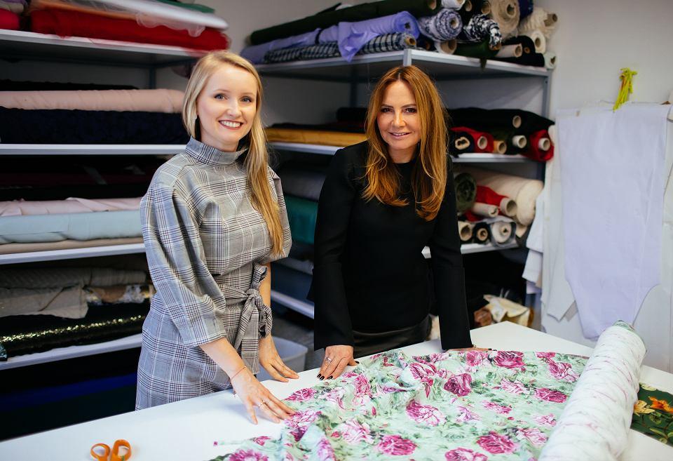 Moja wizyta u Doroty Goldpoint zakończyła się w pracowni, gdzie powstają wszystkie ubrania