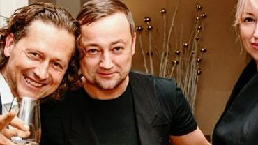 Czesław Mozil z żoną