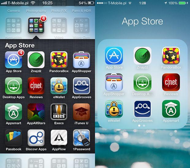 Folder z aplikacjami