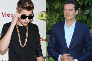 Justin Bieber i Orlando Bloom