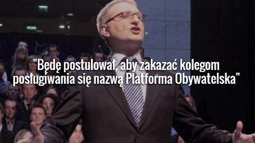 Poseł PiS Stanisław Pięta, zdjęcie z 2008 r.