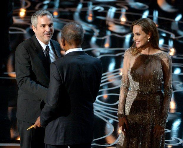 Alfonso Cuaron, Sidney Poitier, Angelina Jolie