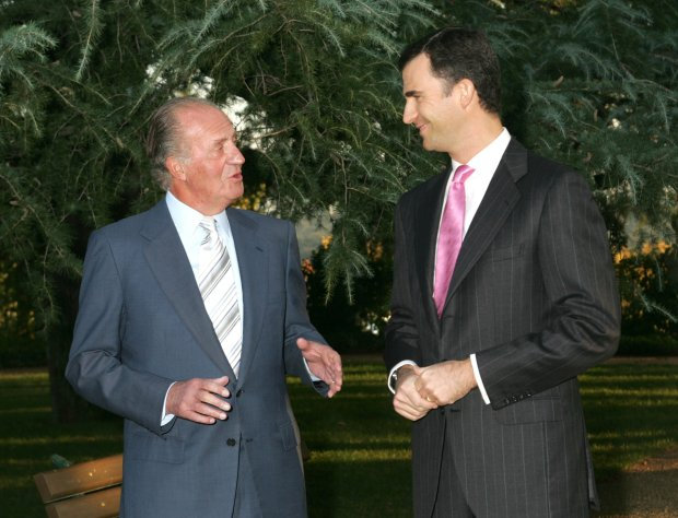 Juan Carlos I de Burbon, książę Filip