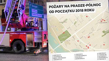 Pożary na Pradze-Północ