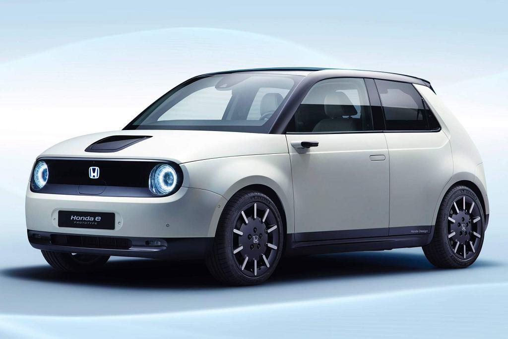 Elektryczna Honda e