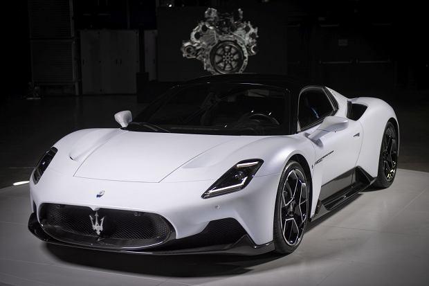 Nowe supersportowe Maserati MC20 już na polskim rynku. Ma konkurencyjną cenę