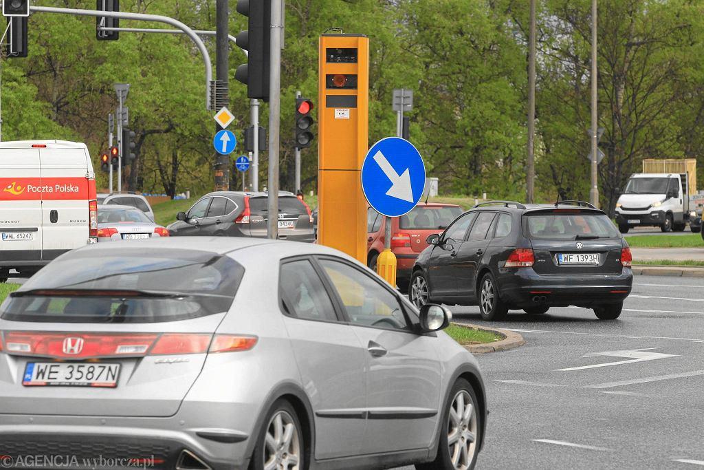 Fotoradar w Warszawie