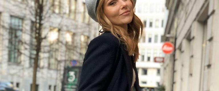 Paulina Sykut - Jeżyna w sukience z różanym wzorem polskiej marki ZAQUAD! To prawdziwy strzał w dziesiątkę!