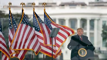 Waszyngton. Prezydent Donald Trump.