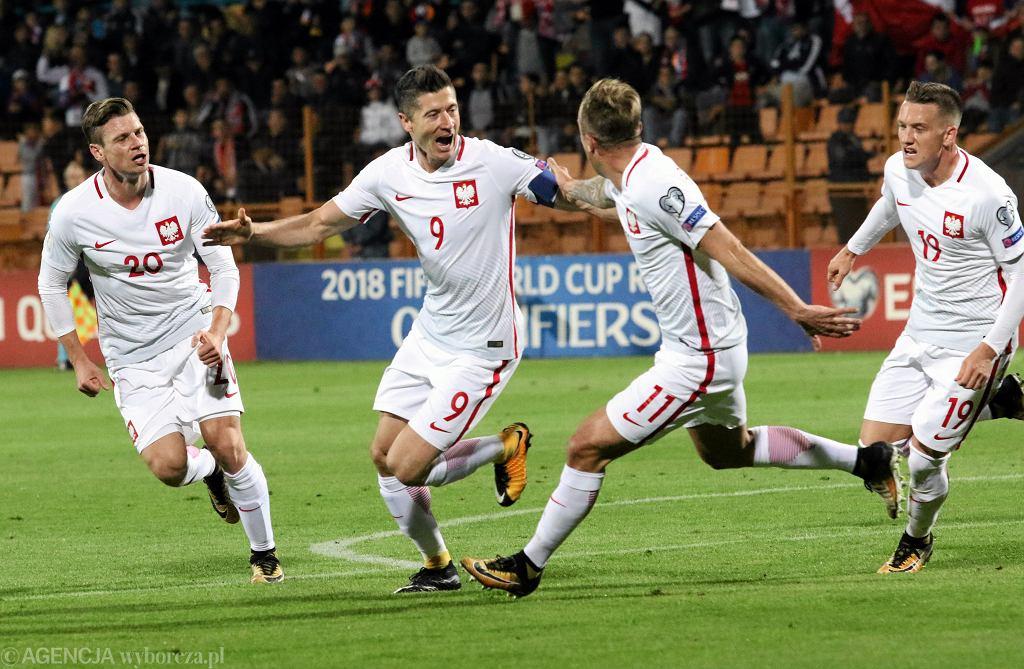 Mecz eliminacji mistrzostw Świata Polska - Armenia, Erywań 5 października 2017