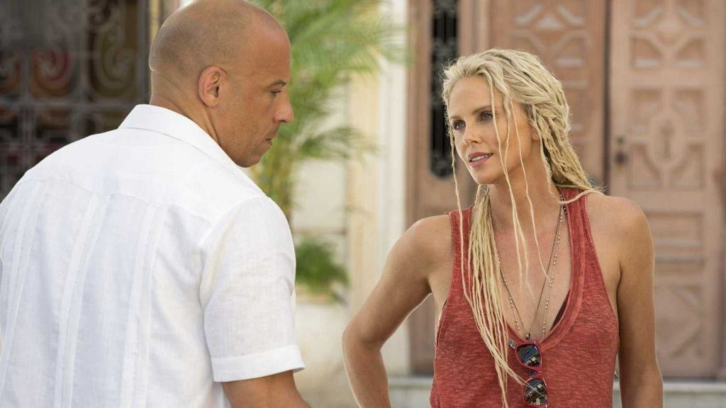 Charlize Theron i Vin Diesel w 'Szybkich i wściekłych 8'