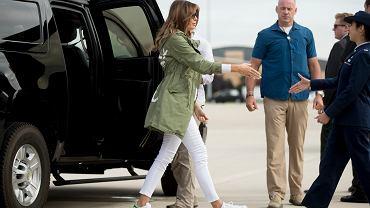 Melania Trump z wizytą w Teksasie