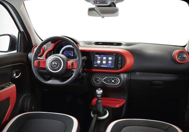 Renault Twingo - wnętrze