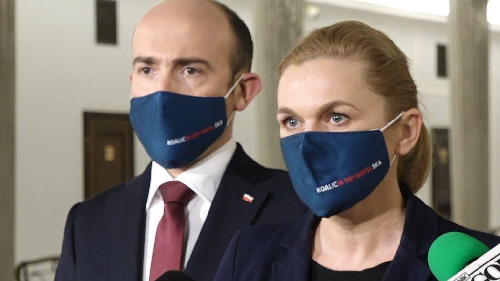 Borys Budka i Barbara Nowacka