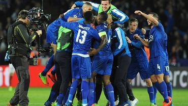 Radość piłkarzy Leicester