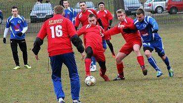 Piłka nożna, sparing: Stilon Gorzów - Warta Gorzów 4:0