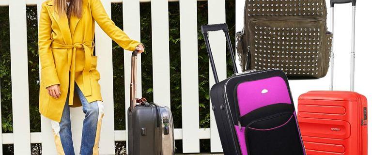 Wyjeżdżasz na majówkę? Mamy dla ciebie stylowe walizki i plecaki w super cenach!