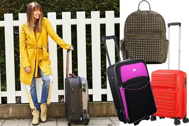 walizki i plecaki na majówkę
