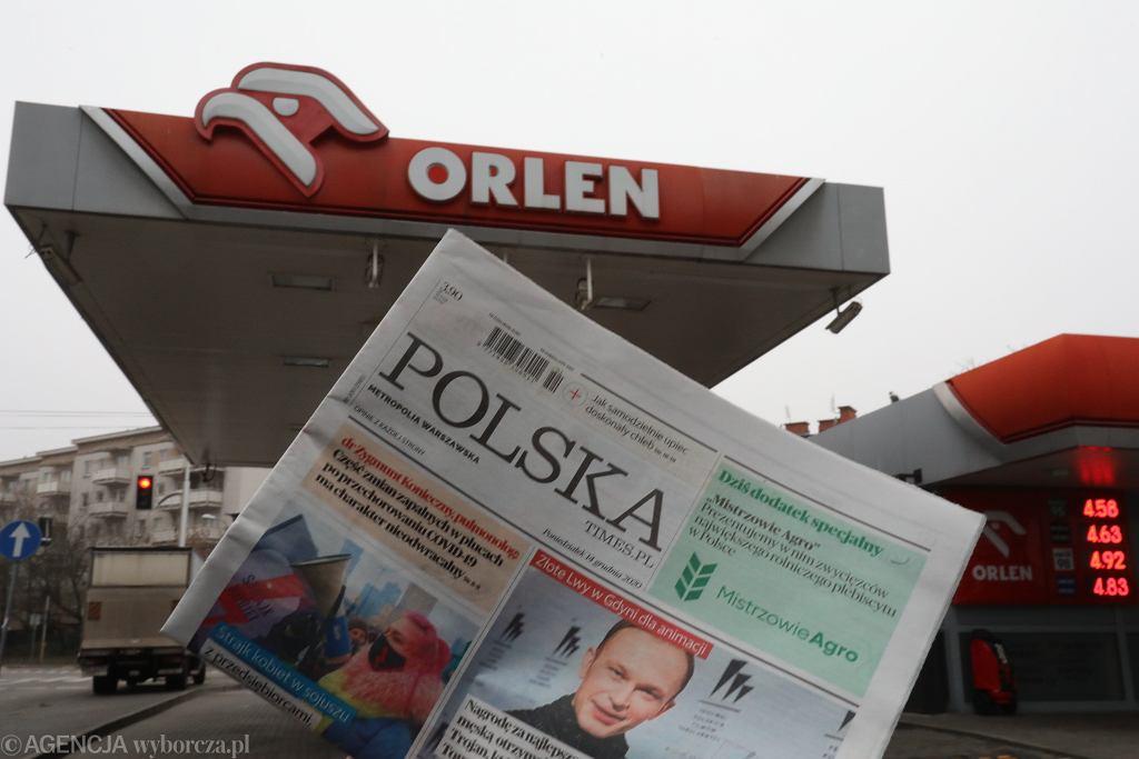 Orlen wacicielem Polska Press