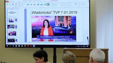 Posiedzenie Komisji Kultury i Środków Przekazu na temat Wiadomości TVP.