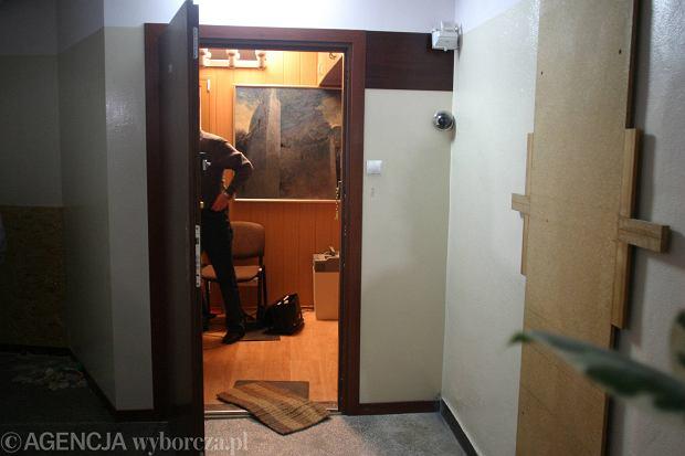 Wejście do mieszkania Zdzisława Beksińskiego