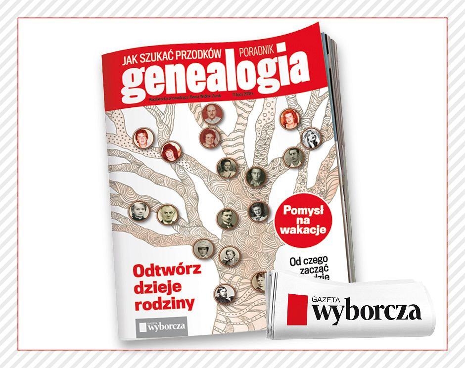 W dodatku 'Genealogia' podpowiadamy jak krok po korku szukać swoich przodków.