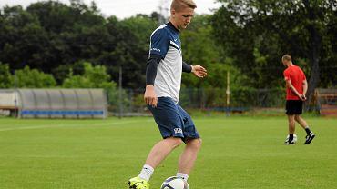 Marcin Listkowski jest największą gwiazdą drużyny juniorów starszych Pogoni Szczecin
