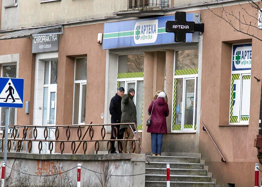 Koronawirus. Białystok opustoszały po ogłoszeniu stanu zagrożenia epidemicznego
