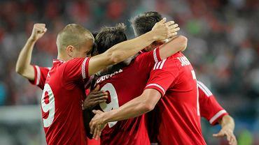 Piłkarze Wisły Kraków mieli mnóstwo powodów do radości