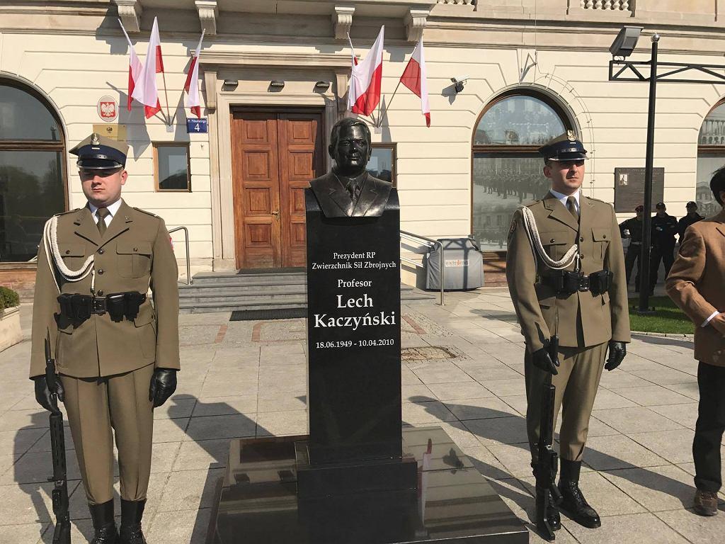 Nowy pomnik Lecha Kaczyńskiego