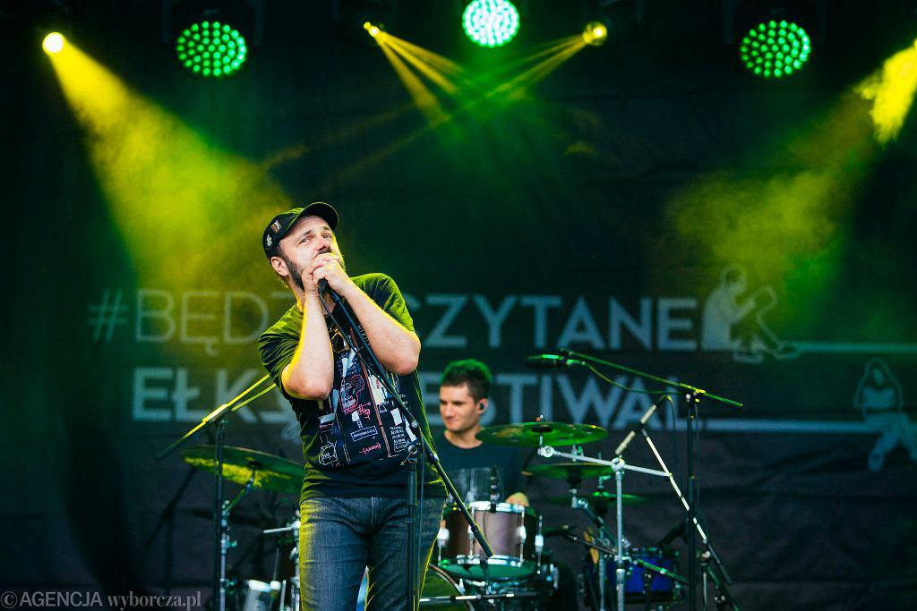 Arek Jakubik na festiwalu #bedzieczytane w Ełku / RENATA DĄBROWSKA
