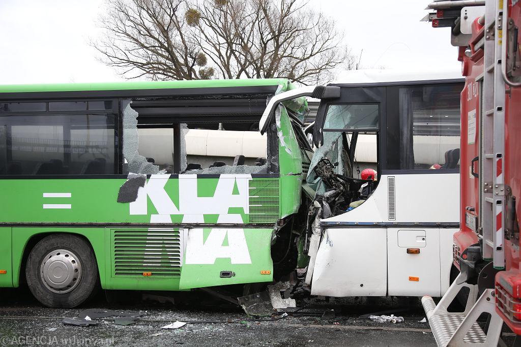 Tragiczny wypadek w Szczecinie. Zderzenie autobusów