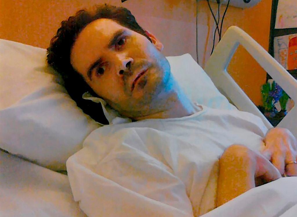 Vincent Lambert w 2008 r. uległ wypadkowi motocyklowemu i od tego czasu przebywa w szpitalu w Reims. Zdjęcie z 8 grudnia 2014 r.