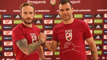 Gergo Lovrencsics (z lewej) i Nemanja Nikolić