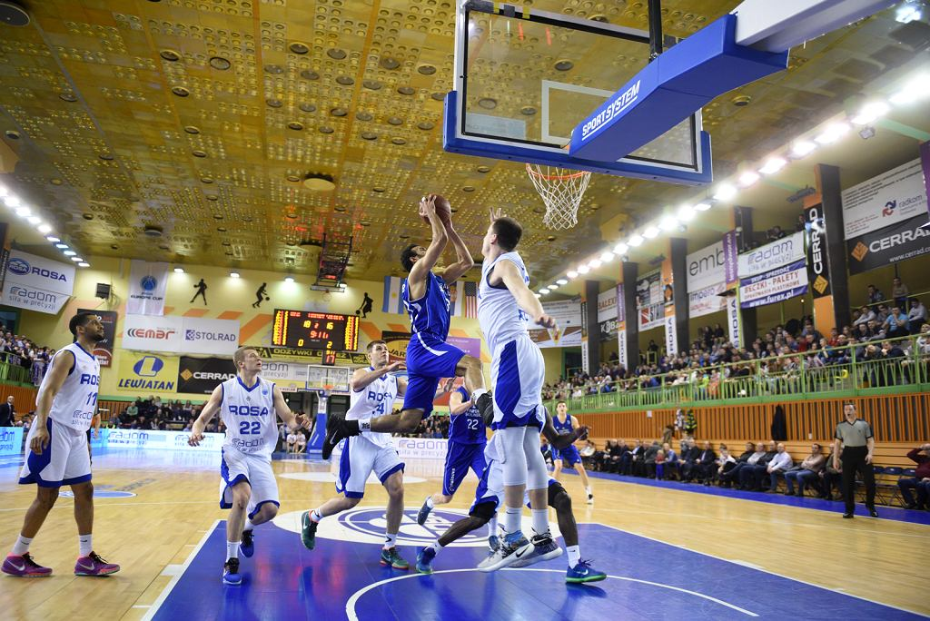 FIBA Europe Cup. Rosa Radom vs Fraport Skyliners Frankfurt