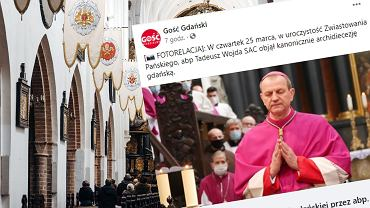 Kanoniczne objęcie archidiecezji gdańskiej przez abp. Wojdę