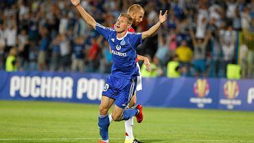 Eduards Visnakovs w barwach niebieskich