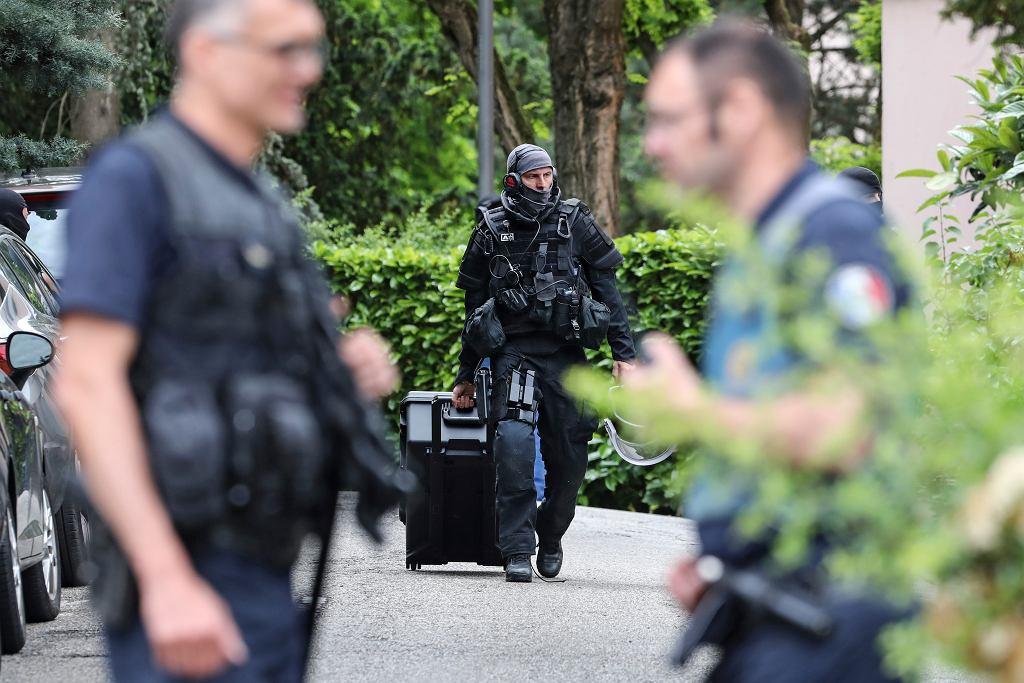 Francja: Eksplozja w Lyonie. Zatrzymany 24-latek przyznał się do winy