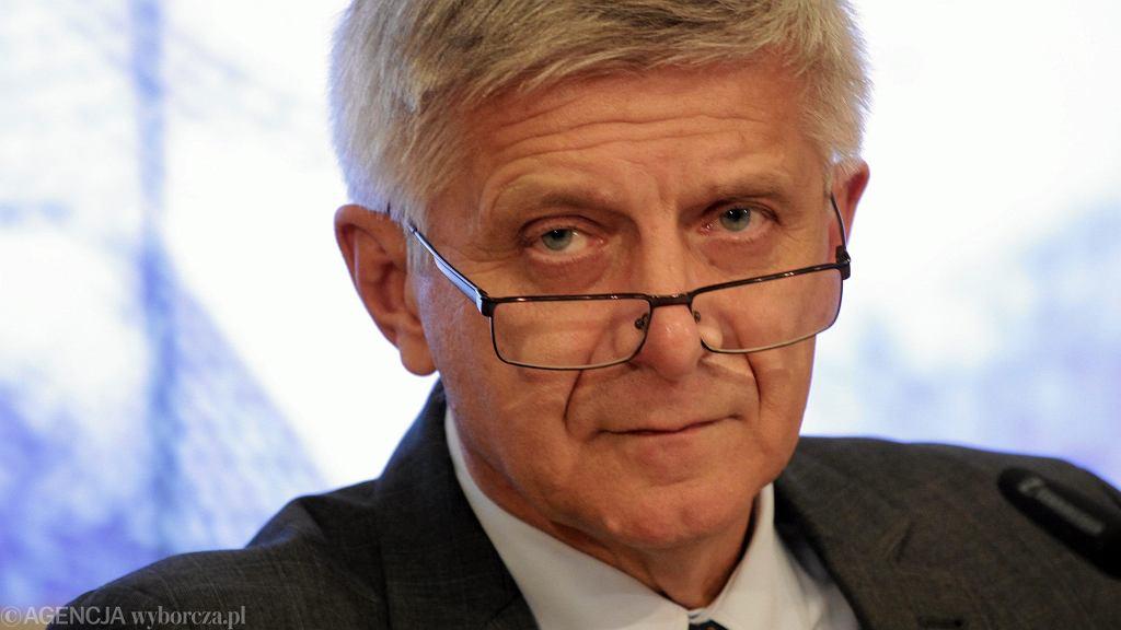 Marek Belka, były premier, o gospodarce po pandemii koronawirusa: Obszary ubóstwa urosną, to największe niebezpieczeństwo i tragedia
