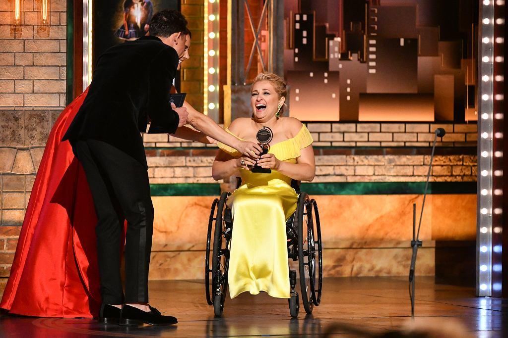 Tony Awards - Ali Stroker odbiera nagrodę